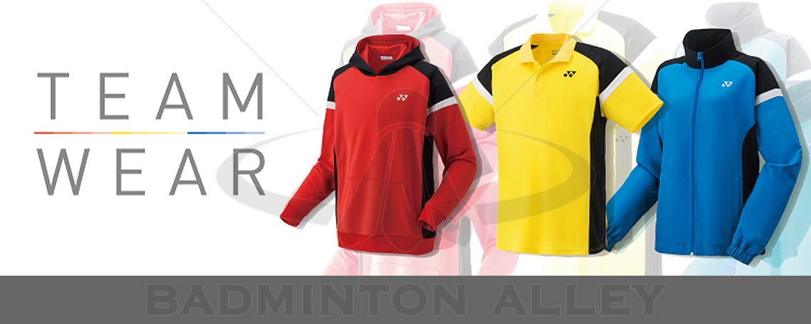 Badminton Alley Team Apparel Design and Printing Service