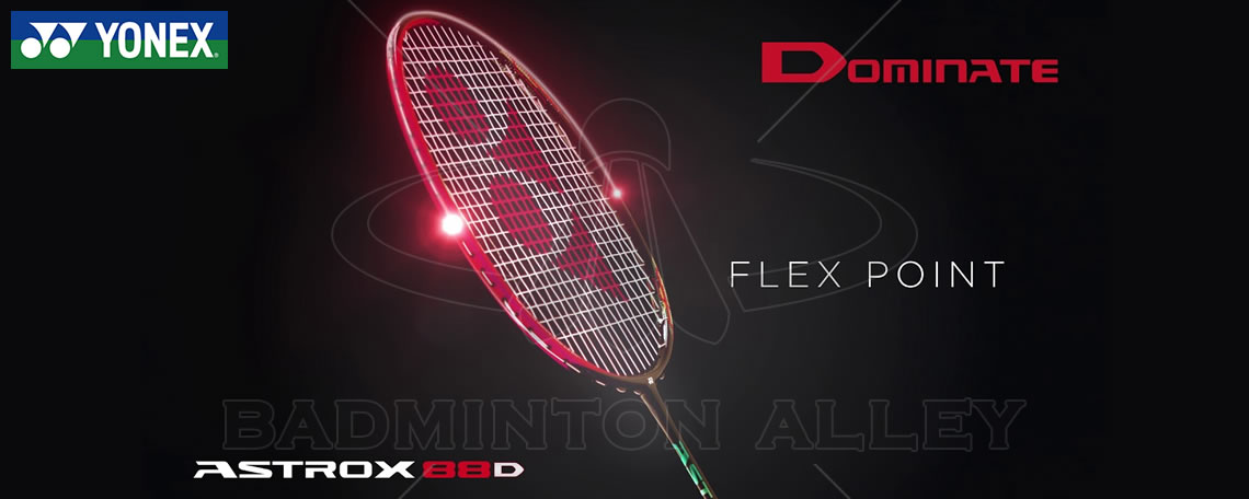 Yonex Astrox 88D Dominate Ruby Red Badminton Racket