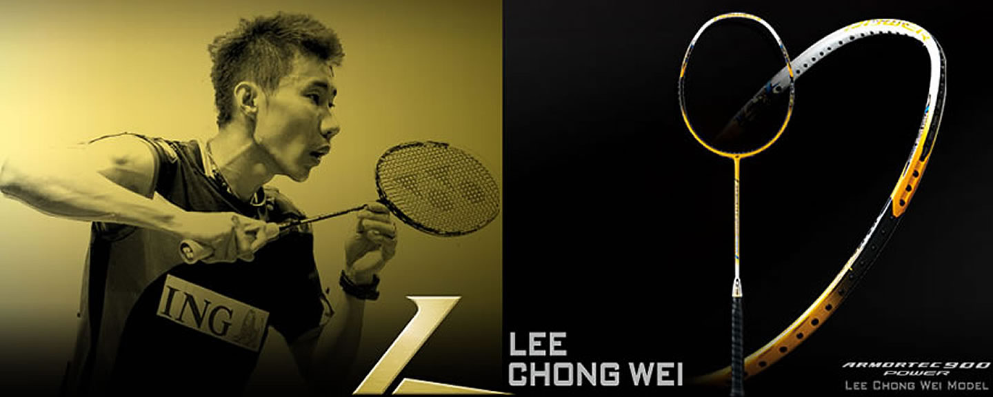 Yonex Armortec 900 Power Lee Chong Wei (AT-900PLC) Limited Edition Badminton Racket