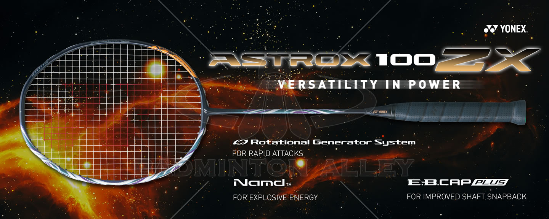 Yonex Astrox 100 ZX (AX100ZX) Dark Navy Badminton Racket