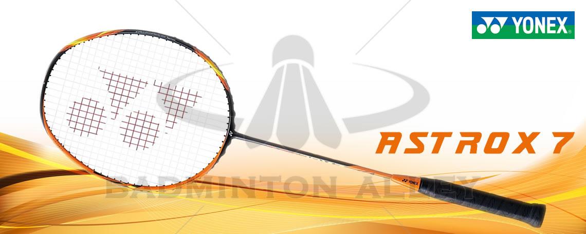 Yonex Astrox 7 (AX7) Black Orange Badminton Racket