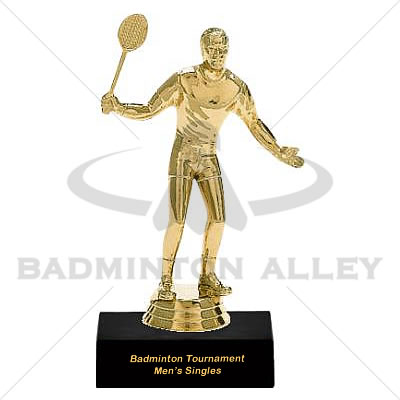 Trophy Male Badminton Player - 01