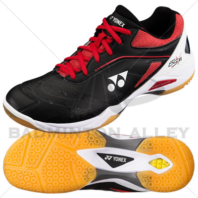 Yonex SHB-65X Black Red Badminton Shoes