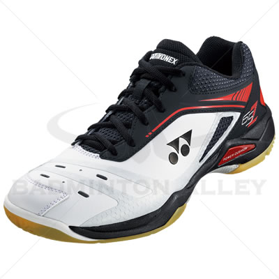Yonex SHB-65Z Black Red Badminton Shoes