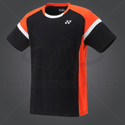 Yonex YM001EX Men Crew Neck Shirt (Color: Black)