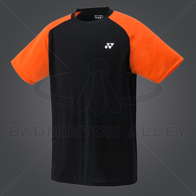 Yonex YM003EX Men Crew Neck Shirt (Color: Black)