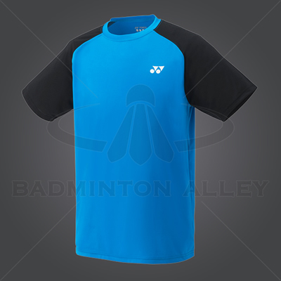 Yonex YM003EX Men Crew Neck Shirt (Color: Infinite Blue)